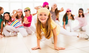 Eleanor Pernia Studio Dance: Four-Week Intro to Hip-Hop for One or Two Kids at Eleanor Pernia Studio Dance (Up to 64% Off)