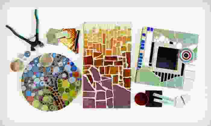 Mercury Mosaics - Northeast Minneapolis: $35 for Beginner Class at Mercury Mosaics ($80 Value)