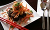 Up to 52% Off Pan-Asian Dinner for Two at Shanghai Café