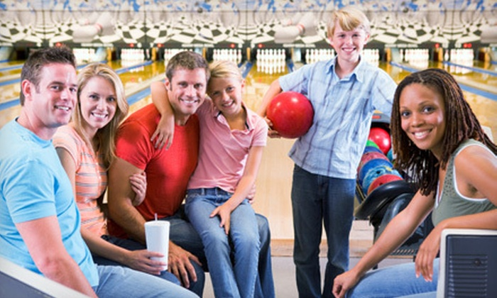 King Pins Bowling Center - Normandy: Bowling Outing for 2, 4, or 10 with Shoe Rental and Nachos or Large Pizzas at King Pins Bowling Center (Up to 61% Off)