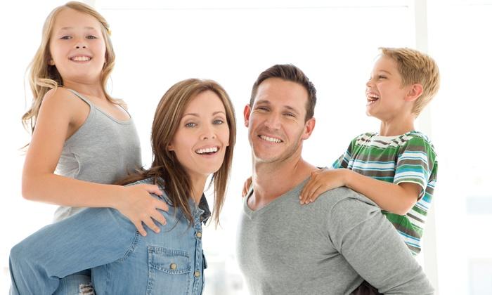 Bristol Family Dental Center  - Thorton Park: Dental Exam Package, Zoom! Teeth Whitening Treatment, or Dental Implant at Bristol Family Dental Center (Up to 93% Off)
