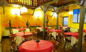 Ristorante El Paso: Menu con carne di manzo da un kg più vino e dolce per 2 persone al ristorante El Paso (sconto fino a 52%)