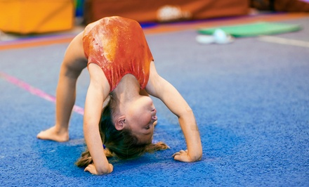Four Weeks of Tumbling Classes for One or Two Kids at United Cheer (Up to 64% Off)