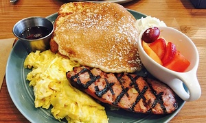 Peoples Cafe:  Breakfast or Lunch for Two or Four at PEOPLES Cafe (Up to 45% Off)