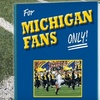 $10 for University of Michigan Football Fan Book