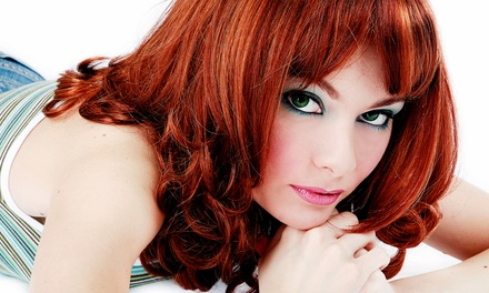 One or Two Haircuts with Color Touch-Ups and Conditioning Treatments at Strada Salon & Day Spa (Up to 63% Off)