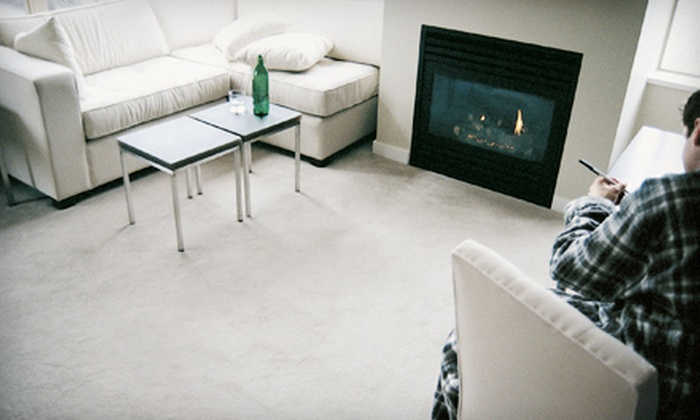 Cleancore Services - Grand Rapids: Steam Carpet Cleaning for Three or Four Rooms from Cleancore Services (51% Off)