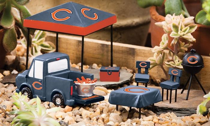 Chicago Bears Mini-Tailgate Set: Chicago Bears Mini-Tailgate Set