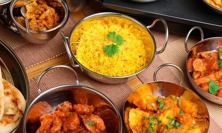 Menú indio para dos o cuatro con entrante, principal, postre y bebida desde 19,95 € en Delhi Darbar Indian Restaurant