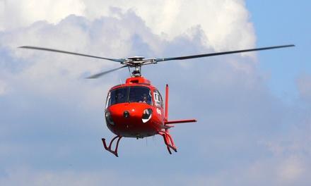 "Helikopter-Flug inkl. 3-Gänge-Menü ""Candle-Flight Dinner"" und Champagner mit Air Service Berlin für 288€"