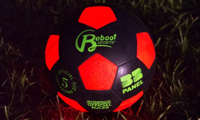 Magma Light-Up Soccer Ball: Magma Light-Up Soccer Ball