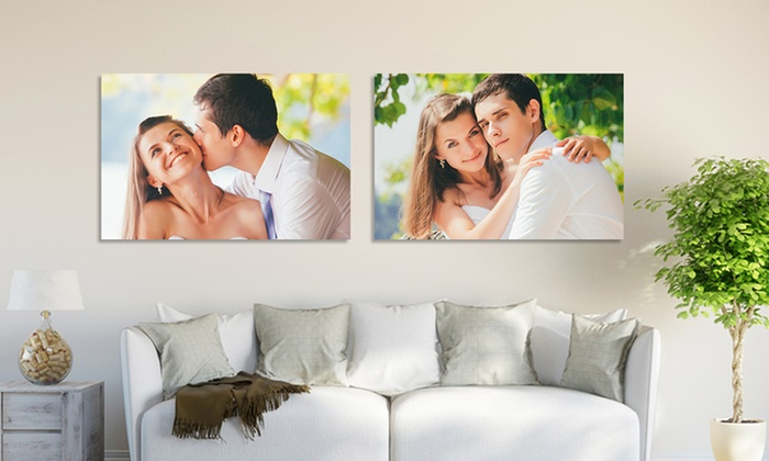 "Picture it on Canvas: 7""x10"", 11""x14"", 16""x20"", or 20""x30"" Custom Photo on Metal from Picture It on Canvas (Up to 92% Off)"