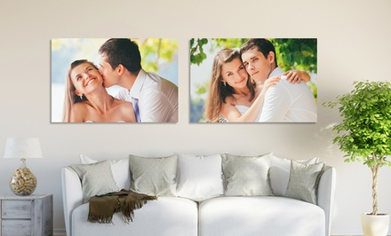 7x10, 11x14, 16x20, or 20x30 Custom Photo on Metal from Picture It on Canvas (Up to 92% Off)