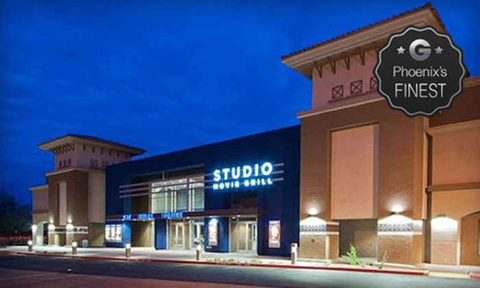 Studio Movie Grill - Scottsdale: $5 for a Movie and Soda at Studio Movie Grill (Up to $12.24 Value)