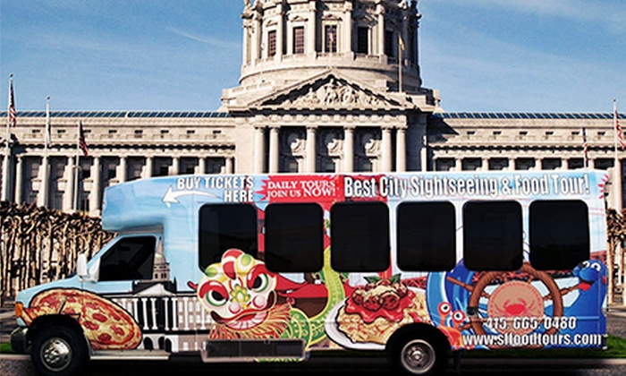Local Tastes of the City Tours - Civic Center: Four-Hour Insider's Sightseeing Bus Tour for 1, 2, 4, or 10 from Local Tastes of the City Tour/SF Food Tours (41% Off)