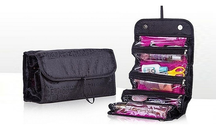 Roll and Go Cosmetics Bag for AED 25 (75% Off)