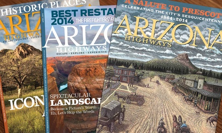 "One- or Two-Year Subscription to ""Arizona Highways"" Magazine (Up to 42% Off)"