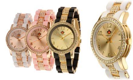Louis Richard Ladies' Watch with Swarovski Crystals
