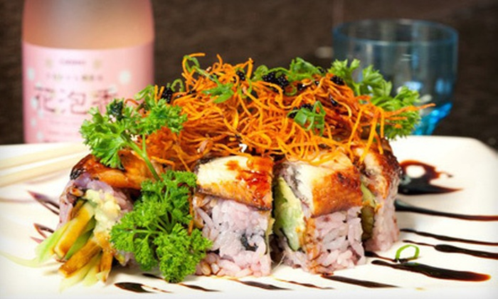 Wild Wasabe - Northwest District: $12 for $25 Worth of Sushi and Japanese Dinner Cuisine at Wild Wasabe