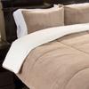 Lavish Home Fleece Comforter Set