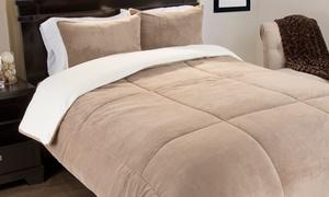Lavish Home Fleece Comforter Set (2- or 3-Piece)