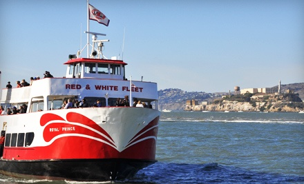 Golden Gate Bay Cruise Red And White Fleet Groupon