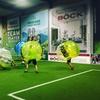 Indoor-Bubble-Fußball