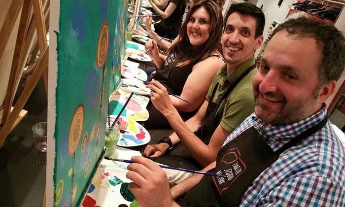 Paint & Sip Studio NY - Paint & Sip Studio NY: Up to 50% Off BYOB Painting Class at Paint & Sip Studio NY