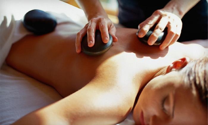 Absolutely You Salon & Spa - Plaza Village Skyview Center: Sports, Reflexology, or Hot-Stone Massage at Absolutely You Salon & Spa (Up to 56% Off). Four Options Available.