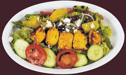 $20or $25Worth of Mediterranean Food and Drink at Zaytoon Kabob Bistro (ZK Grill)