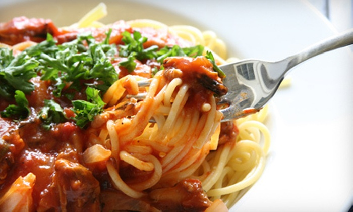 Fiorella's Cafe - French Quarter: Creole-Italian Cuisine at Fiorella's Cafe (Half Off). Two Options Available.