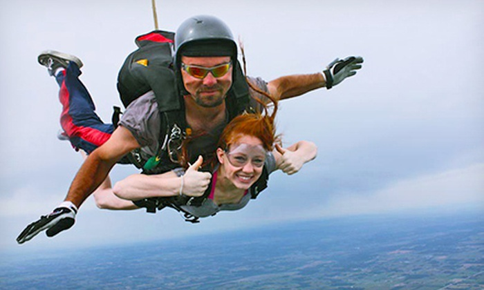 Ozarks Skydive Center - Ozark Skydive Center: $119 for Tandem Skydiving at Ozarks Skydive Center ($209 Value)
