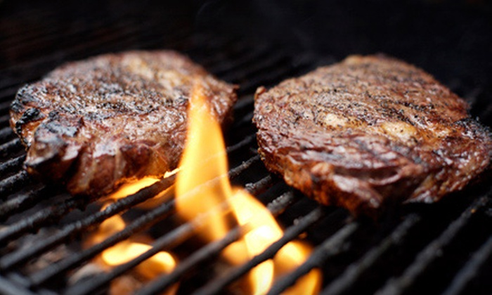Grill Master's Steak House - Southern Pacific / Richards: Dinner for Two or Four at Grill Master's Steak House (Half Off)