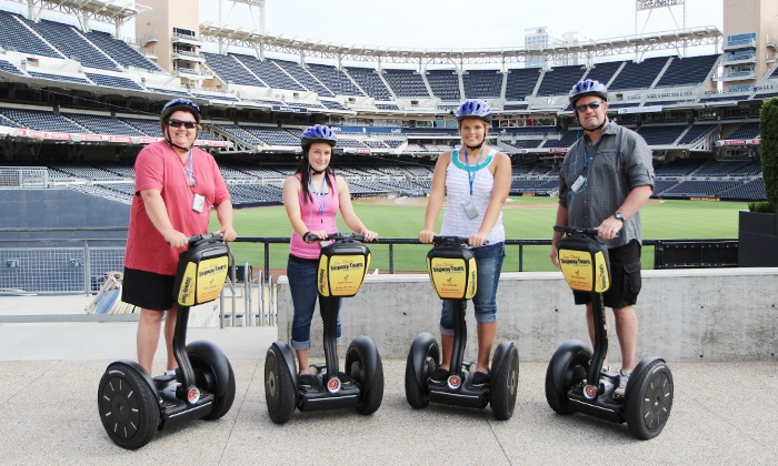 San Diego Segway Tours by Wheel Fun - San Diego: Gaslamp Waterfront or Balboa Park Segway Tour from San Diego Segway Tours by Wheel Fun Rentals (Up to 51% Off)