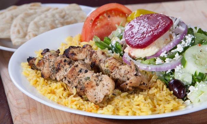 Little Greek Fresh Grill - Little Greek Fresh Grill: Greek Dinner for Two or Four at Little Greek Fresh Grill (44% Off)