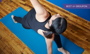 Fire Shaper: $45 for One Month of Unlimited Hot-Yoga Classes at Fire Shaper ($180 Value)