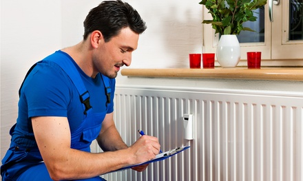 $49 for 24-Point HVAC Tuneup Plus Maintenance Contract from Angel Heating and Cooling ($228 Value)