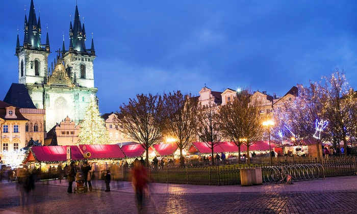 Index Polska - Praga: 8 europejskich miast: jarmark bożonarodzeniowy dla 1 osoby z przejazdem autokarem, zwiedzaniem i więcej