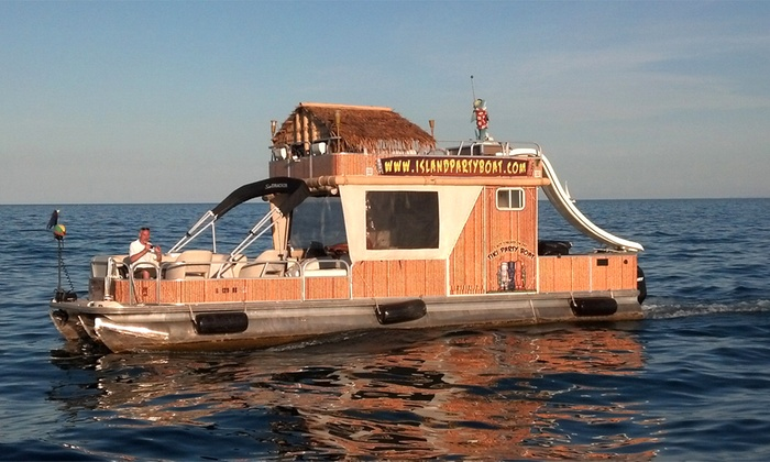 Party Boat Rental Island Party Boat Groupon