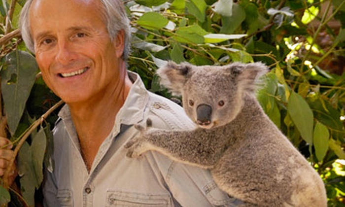 "Jungle Jack Hanna-Into the Wild - Bergen Performing Arts Center: Jungle Jack Hanna's ""Into the Wild"" at Bergen Performing Arts Center on Saturday, October 5, at 4 p.m. (Up to 52% Off)"