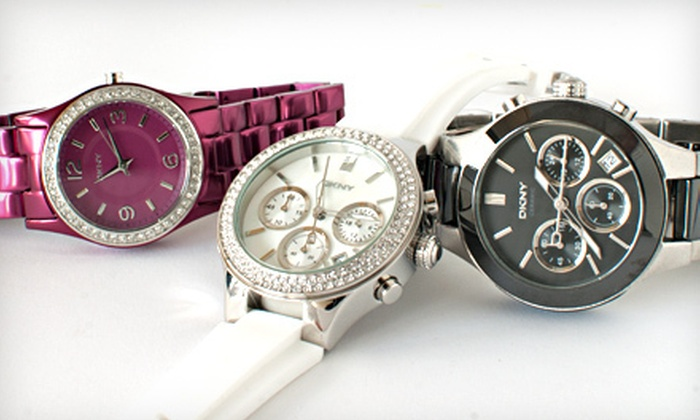 Women's DKNY Watches: Women's DKNY Watches (Up to 52% Off). 11 Styles Available. Free Shipping.