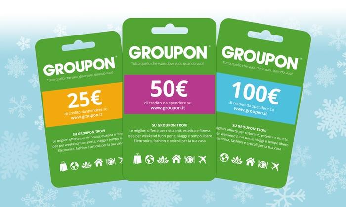Groupon Regalo Come Funziona.Gift Card Groupon Fino A 100 Euro Groupon Groupon