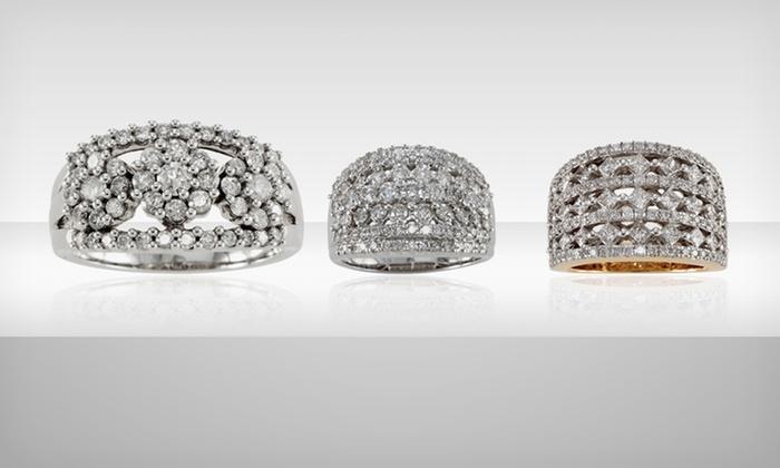David Tutera 14-Karat Gold and Diamond Rings: David Tutera 14-Karat Gold and Diamond Rings (Up to 83% Off). Multiple Styles Available. Free Shipping and Returns.