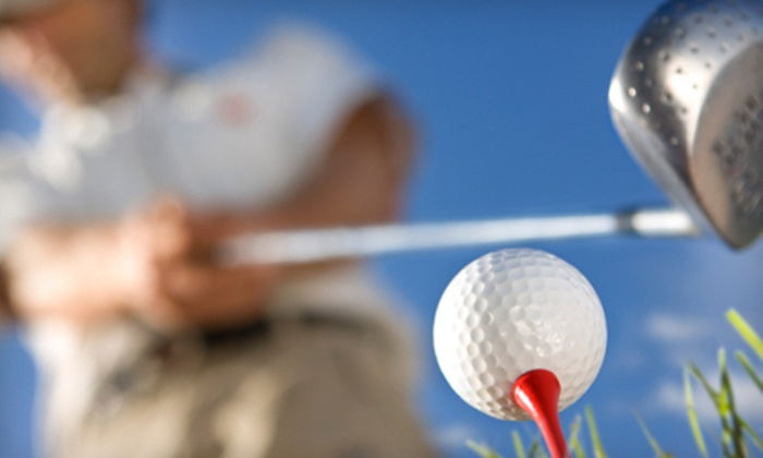 Big Swing Golf Center - Washington: Two Large Buckets of Driving-Range Balls, or Mini-Golf Game for Two or Four at Big Swing Golf Center (Half Off)
