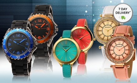 Rousseau Men's and Women's Watches. Multiple Styles from $29.99–$34.99. Free Returns.