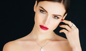 Red Salon Eyebrows: Permanent Makeup for Upper or Lower Eyelids, Eyebrows, or Lips at Red Salon Eyebrows (Up to 70% Off)
