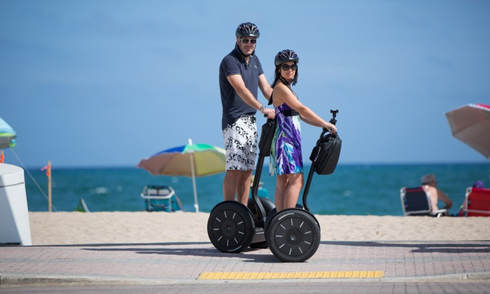 Fun Center - Fun Center: 60-Minute Segway Park Tour for One, Two, or Four from Fun Center (Up to 44% Off)