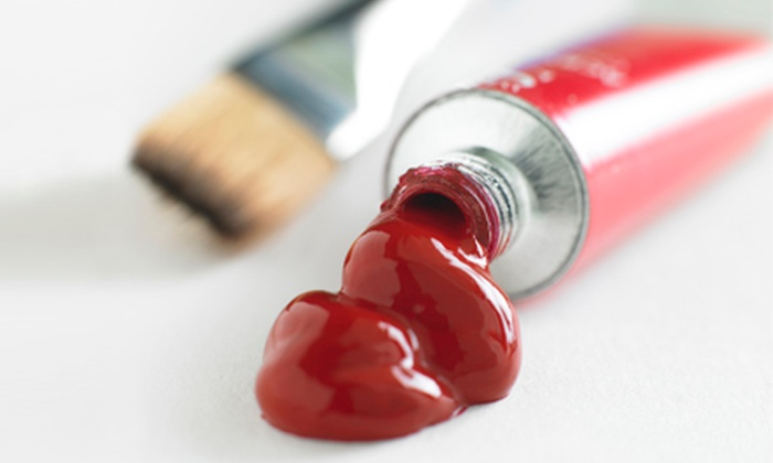 Rubini Art - Winchester Town Center: BYOB Painting Class for One or Two, or Four One-Hour Private Painting Lessons for One at Rubini Art (Up to 57% Off)