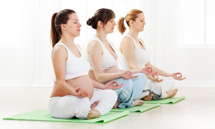 Hiprana - Multiple Locations: 10 Weeks of Prenatal Yoga Classes at Hiprana (65% Off)