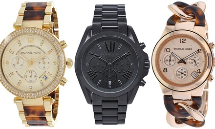 Michael Kors Men's and Women's Watches from $129.99–$196.99